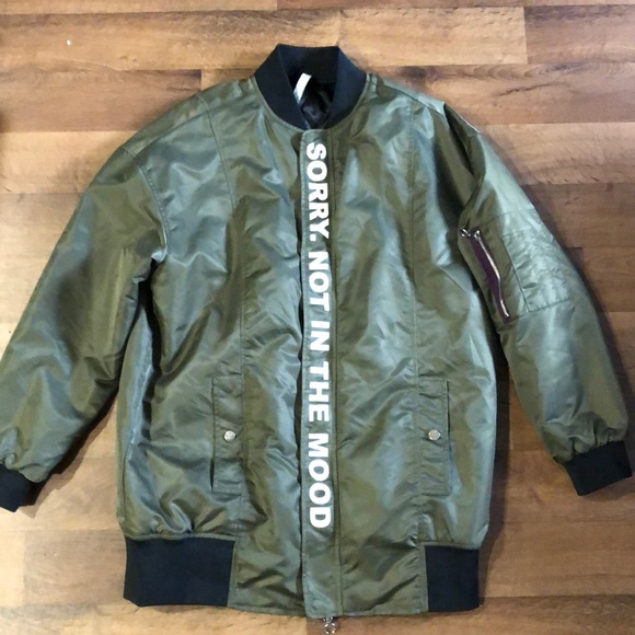 Zara Jackets & Blazers - Zara Man Women's Coat Size S Green Full Zip